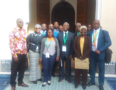 Délégation Ivoirienne au FIF_2_Marakech_Janvier 2017